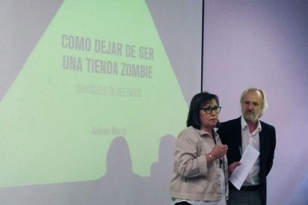 Conferencia i llibre: Com deixar de ser una botiga zombie